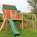 Forest Playhouse Climbing Frame